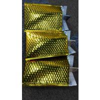 杭州厂家直销星辰牌防水缓冲土豪金色镀铝膜复合气泡信封袋