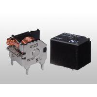 供应12V体积小大触点负载福特4120(JQC-4)印刷线路板式汽车继电器