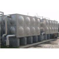 华县玻璃钢水箱经销商 RB-18华县消防水箱 润捷水箱