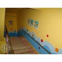 """江西上饶壁画 """"幼儿园墙绘""""学校文化墙体,幼儿园装修墙体设计"""