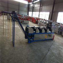 大型面条机电动6组商用全自动压面机一次成型自动爬杆挂面机鲜面双桥机械