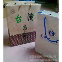 厂家供应白卡纸礼品手提袋定制印刷 品质高 价格好 出货快 设计印刷一条龙服务