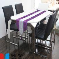 厂家供应福田\\龙华\\罗湖耐用2人位大理石面快餐桌 大理石火锅桌