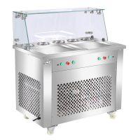 格琳斯HX-CBZ-21炒冰机 有单控带六桶、双控单压、双控双压类型等等