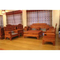 鲁创红木厂家直销--金玉满堂沙发