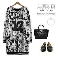 2015春季新款 韩版字母运动打底衫棒球服女批发 高档韩国女装外套