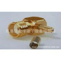 【宇通通信】长期低价直销SMA-KW压接式射频同轴连接器