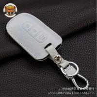 现代钥匙包ix35索纳塔八 朗动汽车钥匙包起亚智跑k2 K5钥匙套真皮