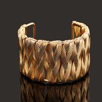 BZ0148 新款首饰时尚 开口铁丝手工制作手镯高品质手环