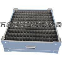 供应辽宁丹东塑胶周转箱 黑色中空板箱 pp瓦楞板分类箱