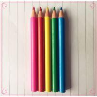 3.5寸迷你彩色铅笔 顺手牌 12色彩铅批发 厂家直销 现货供应 可定制