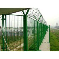 鄂尔多斯养殖包塑围栏网生产厂家@鸿德仓库隔离网@工厂防护围栏网