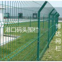 武汉哪里有卖港口围栏?港口围栏网样式规格_码头供船舶或人群安全进出铁栏_博达金属丝网厂家