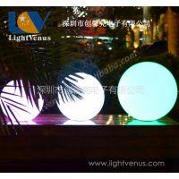 供应发光球 led发光球 滚塑工艺制成 高品质PE料 透光好 水球 漂浮球