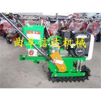山东厂家销售汽油轮式小型玉米播种机,小型玉米播种机信达