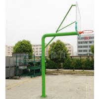 供应中小学体育器材校园健身器材地埋圆管篮球架