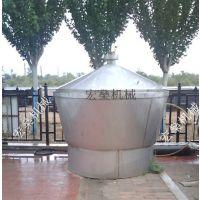 家庭作坊酿酒容器 宏燊白酒冷却器蒸馏设备
