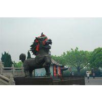 上海铜狮子|昌宝祥铜雕|黄铜狮子