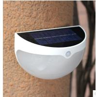 若盛太阳能户外壁灯防水庭院灯家用景观过道楼梯小院人体感应LED灯