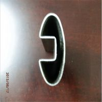 316L不锈钢椭圆槽管,60*40不锈钢扶手夹玻璃槽管,大量现货
