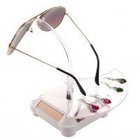 太阳能眼镜展示架 眼镜旋转支架