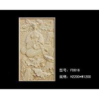 四川艺术砂岩浮雕园林景观精品中式人物电视立体背景墙装饰