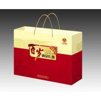 广安小杂粮包装盒-牛皮纸袋定做-百岁精品礼盒-四川美印达礼品盒厂家