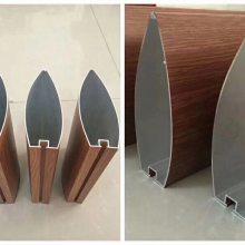 直径50木纹铝圆管 型材木纹铝圆管_欧百得