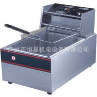 厂家批发81加厚单缸电炸炉/小吃设备/电炸锅/油炸机器