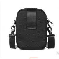 尼龙腰包手机包 竖款休闲小单肩包 腰挂包迷你斜跨包 男运动小