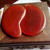 厂家直销天然玛瑙玉石刮痧板  玛瑙阴阳鱼刮痧板 美容养颜