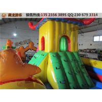 儿童充气城堡有很高的安全性,3-12周岁的小孩可以放心玩耍,舒适度高的充气城堡