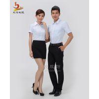 比伦男衬衫定做 公司白领商务职业装 上海制服定做BL-NS19
