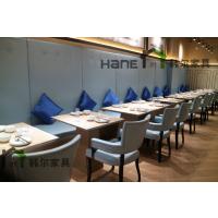 直销上海西餐厅实木椅子 简约实木扶手椅子订制 上海韩尔家具厂