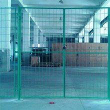 旺来单位绿地护栏网 双边丝护栏网 栅栏围栏