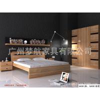 板式组合家具/时尚成人套房/大床/衣