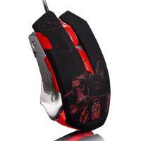 剑圣一族L8鼠标机械鼠标自定义宏编程cf LOL 网吧金属游戏大鼠标