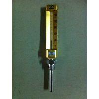 供应V型金属外壳玻璃温度计