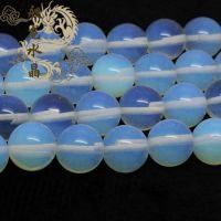 厂家直销DIY手工饰品配件 天然蛋白石半成品串珠散珠材料批发