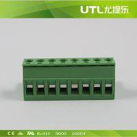 PCB接线端子 MA2.5/H5.0(5.08)  插拔式接线端子  UL认证端子
