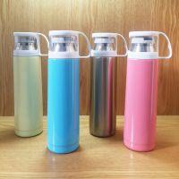 不锈钢保温杯直身男商务车载办公杯子女运动保温瓶大容量水壶水杯