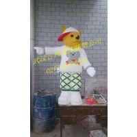 武汉泡沫雕塑公司,卡通泡沫雕塑
