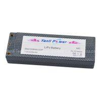 RC LiPo Car Battery Pack 2S2P 7.4V 6000mAh 25C