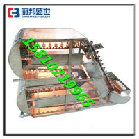 梯形链条烤串机|梯形无烟烤串设备|链条无烟电烤炉