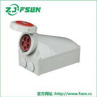 富森供应MANLAKIS 工业明装插座 TYP-1366 防水插座 3P16A工业插头
