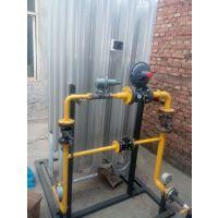 公司制作简易 LNG气化调压撬,一体撬装供气设备,单路双调带旁通,LNG调压撬 ,燃气设备