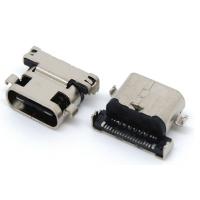 TYPE C FEMALE 沉板式,板到中心0.3mm SHORT CONNECTOR