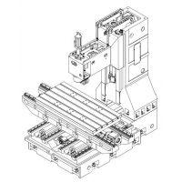 台正立式数控加工中心光机线轨L1690  全国知名品牌