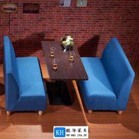 定做餐厅卡座沙发广州酷海家具服务周到