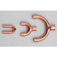 供应、定制空调铜管紫铜Y型三通管件